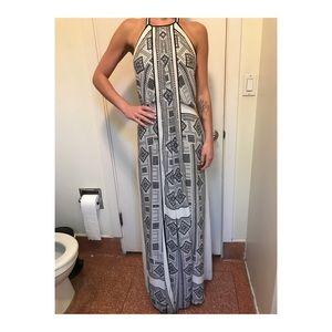 BCBG Silk Maxi Dress